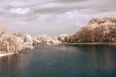 Free Autumn River Royalty Free Stock Images - 3408819