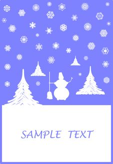 Free Winter Card Stock Images - 3409224