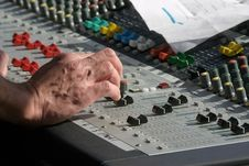Free Mixer In Action Royalty Free Stock Images - 3409329