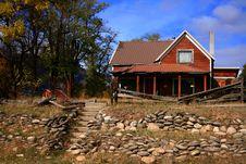 Alder Creek Farmhouse Stock Photography