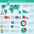 Free Business Infographic Flat Design. Royalty Free Stock Photography - 34006437