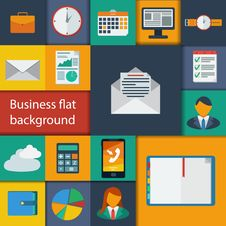 Free Business Infographic Flat Design. Stock Photography - 34006192