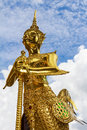 Free Statue Of A Kinnara Royalty Free Stock Photos - 34014898