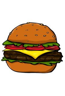 Free Hamburger Royalty Free Stock Image - 34013206