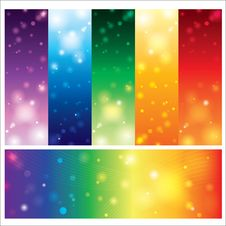 Free Template Card Colorful Element Design Stock Photography - 34014962