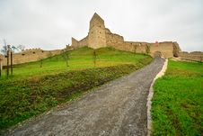 Free Inside The Medieval Fortress From Rupea. Stock Photography - 34016912