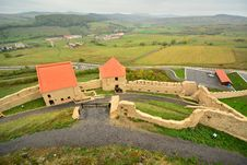 Free Landscape From The Medieval Fortress From Rupea. Stock Image - 34017001