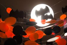 Free Halloween Garlands Royalty Free Stock Images - 34017399