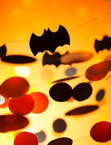Free Halloween Garlands Stock Photography - 34017402