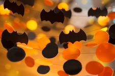 Free Halloween Garlands Royalty Free Stock Images - 34017419