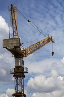 Free Tower Crane Stock Photos - 34018053