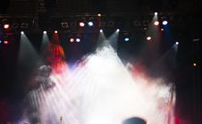 Free Stage Lights Royalty Free Stock Images - 34018829