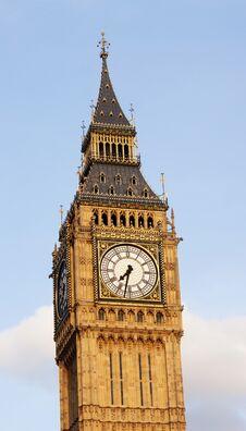 Free Clock Face Of Big Ben Stock Photo - 34019980
