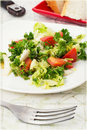Free Salad With Fresh Vegetables Stock Photos - 34028173