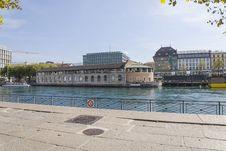 Free Geneva Cultural Centre Stock Image - 34022201