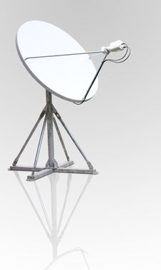 Satellite Dish Antenna Royalty Free Stock Photography