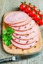 Free Sliced Salami Stock Photos - 34074123