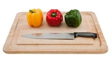 Free Colorful Bell Peppers Stock Images - 34072124
