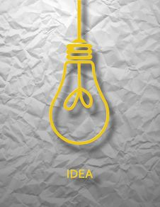 Free Big Idea Vector Illustration Stock Photo - 34072140
