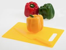 Free Colorful Bell Peppers Stock Photos - 34072173