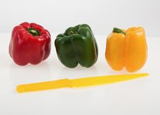 Free Colorful Bell Peppers Royalty Free Stock Photography - 34072177
