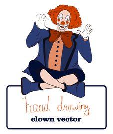 Free Vector Clown Stock Photo - 34077630