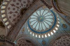 The Sultan Ahmed Mosque Dome Royalty Free Stock Photo