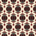 Free Damask Seamless Pattern Vector Stock Image - 34088881