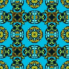 Seamless Pattern Geometric Vector Royalty Free Stock Image