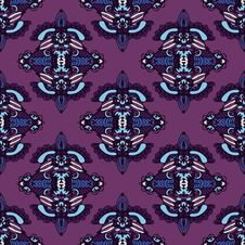 Free Ethnic Seamless Pattern Vector Stock Photo - 34088880