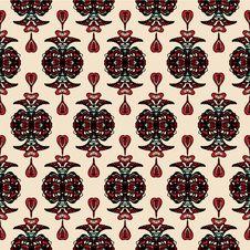 Free Damask Seamless Pattern Vector Stock Image - 34088881