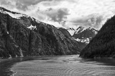 Free Tracy Arm Fjord Royalty Free Stock Image - 34089486