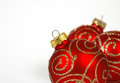 Free Red-golden Baubles Stock Image - 34095131
