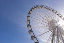 Free Big Ferris Wheel Stock Photography - 34094512