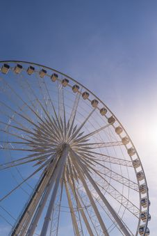 Free Big Ferris Wheel Stock Photography - 34094522