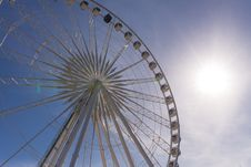 Free Big Ferris Wheel Stock Photography - 34094532