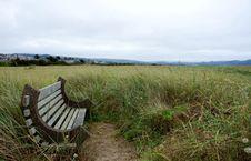 Free State Oregon.Seaside S Bench Stock Photos - 34095073