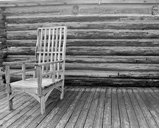 North Dakota State  All Wooden Antique Stock Image
