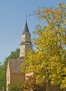 Free Church In Autumn Royalty Free Stock Photos - 3411878