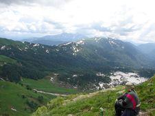 Free The Main Caucasian Ridge Stock Photography - 3410062