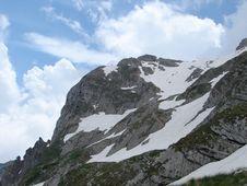 Free Mountain Fisht Peak. Stock Images - 3410094