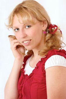 Free Playful Girl Stock Image - 3410421