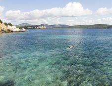Free Sardinian Bay Royalty Free Stock Image - 3411556