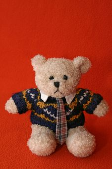 Free Angry Teddy Bear 1 Royalty Free Stock Image - 3411626