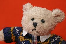 Free Angry Teddy Bear 3 Royalty Free Stock Photography - 3411707