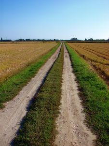 Free Country Road Stock Image - 3411741