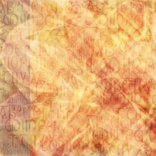 Free Antique Alphabet Background Stock Images - 3412044