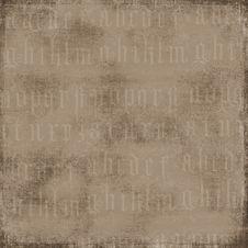 Free Antique Alphabet Background Stock Image - 3412691