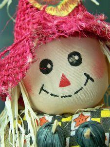 Scarecrow Doll Royalty Free Stock Photo