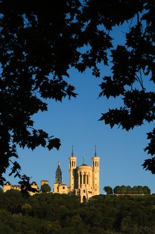 Free Notre Dame De Fourviere Royalty Free Stock Photo - 3413345